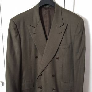 Mens double breasted Canali blazer 40R